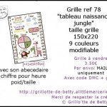 grille broderie jungle
