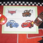 grille à broder cars