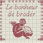 grille broderie ange