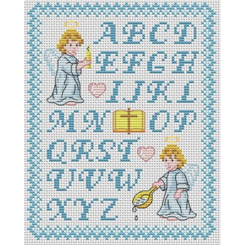 Grille broderie lettres - Grille point de croix lettre ...