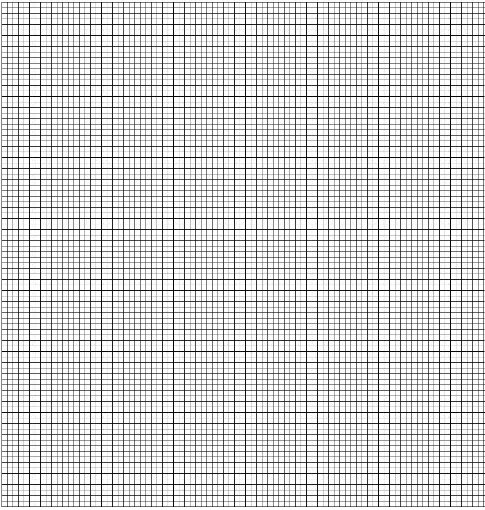 Feuille Pixel à Imprimer