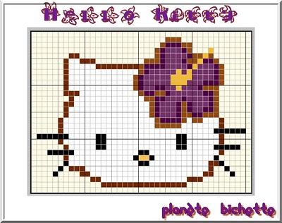 Mod le broderie hello kitty gratuit - Modele hello kitty ...