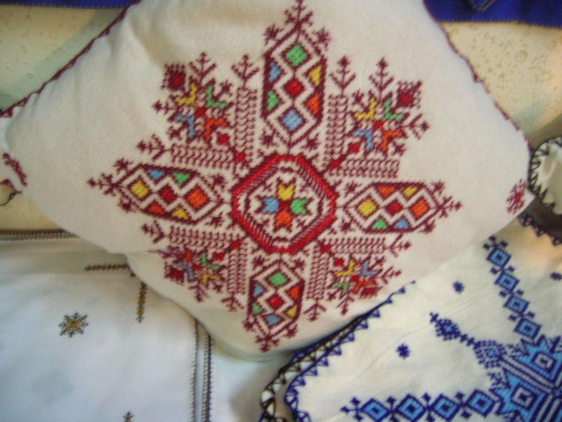 modèle broderie marocaine