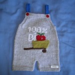 modèle broderie sur tricot jersey