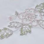modèle de broderie en perles