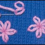 motif a broder sur tricot