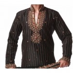 motif broderie homme