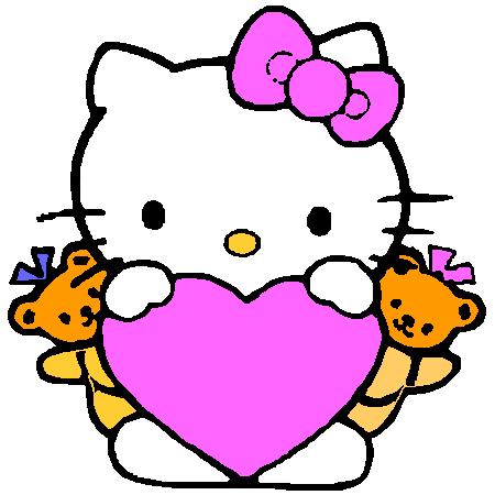 Motif Broderie Machine Gratuit Hello Kitty 5