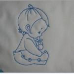 motifs a broderie pour bébé