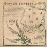 patron broderie ancienne