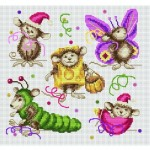 grille broderie animaux
