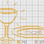 grille broderie gratuite communion