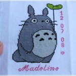 grille broderie totoro