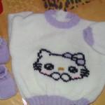 modèle broderie sur tricot