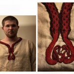 motif broderie viking