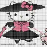 grille a broder gratuite hello kitty