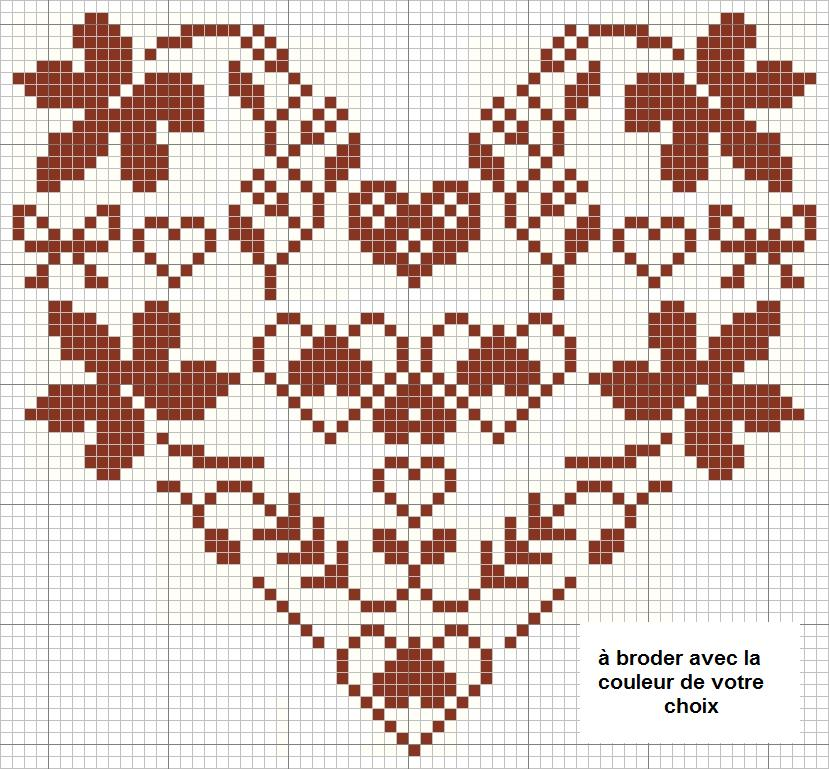 Grille broderie point compt gratuite 8 - Broderie point compte grille gratuite ...