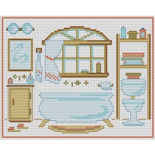 grille broderie salle de bain. Black Bedroom Furniture Sets. Home Design Ideas