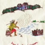 modèle broderie malgache