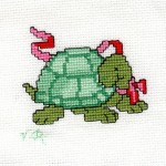 modèle broderie tortue