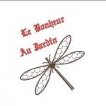 motif broderie libellule