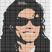grille broderie michael jackson