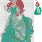 grille broderie princesse disney