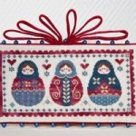 grille broderie russe