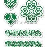motif broderie celtique
