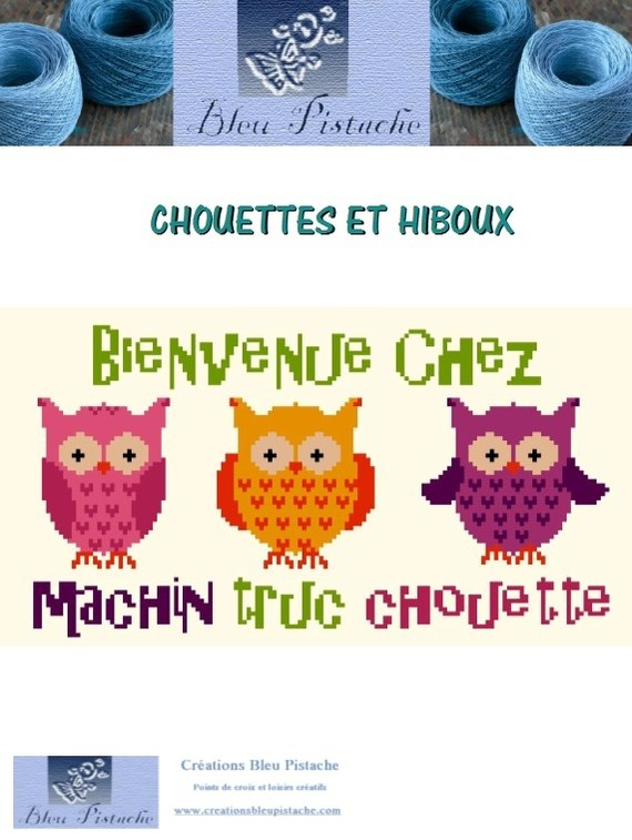 Préférence broderie chouette NM66