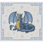 grille broderie dragon