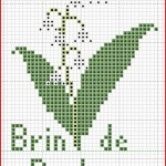 grille broderie etoile
