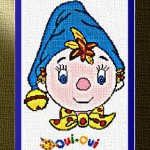 grille broderie oui oui