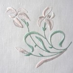 modèle broderie fleur