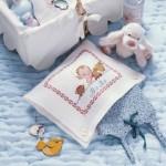 modèle broderie gratuit bébé