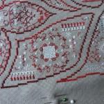 modèle d'oeillet broderie au ruban