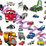 motif broderie machine cars