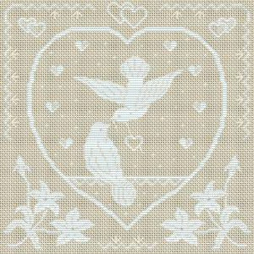 patron broderie mariage
