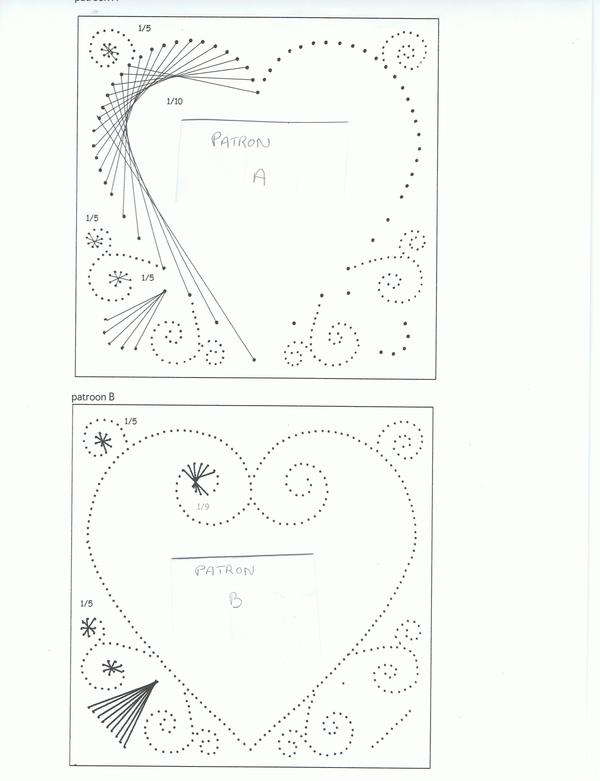 Шаблон для вышивки на картоне 17