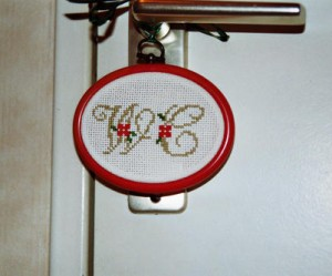 grille broderie wc