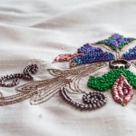 modèle broderie indienne