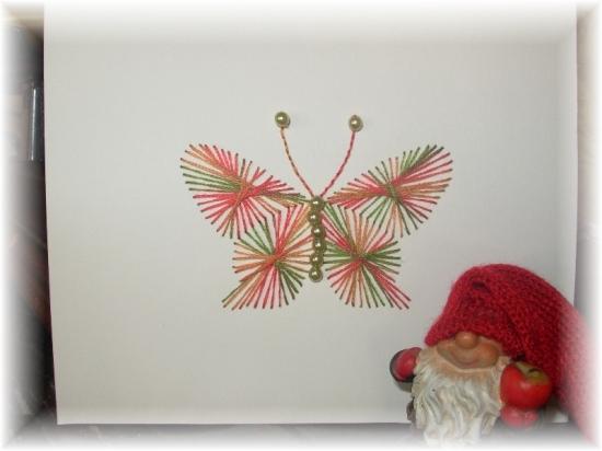 patron broderie papillon. Black Bedroom Furniture Sets. Home Design Ideas